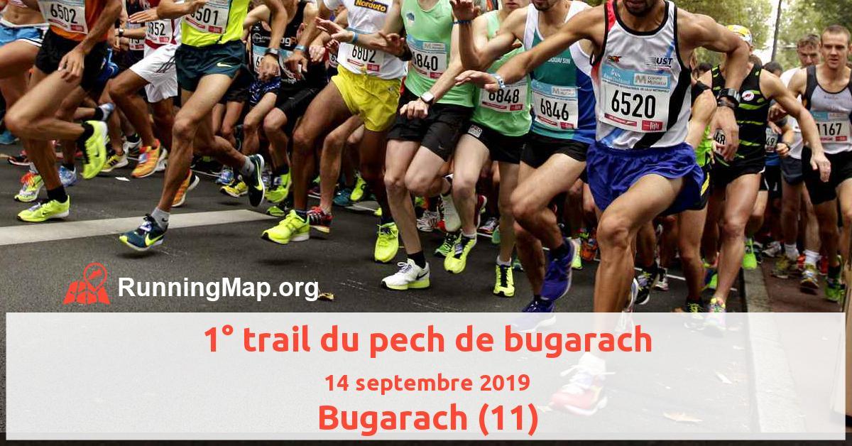 1° trail du pech de bugarach