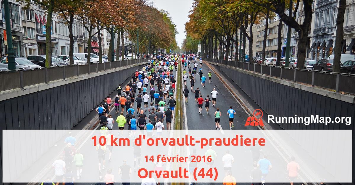 10 km d'orvault-praudiere
