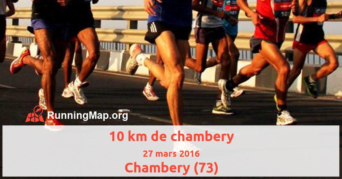 10 km de chambery