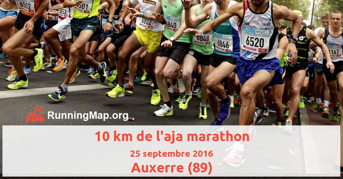 10 km de l'aja marathon