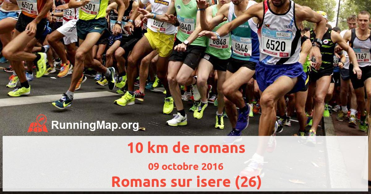 10 km de romans