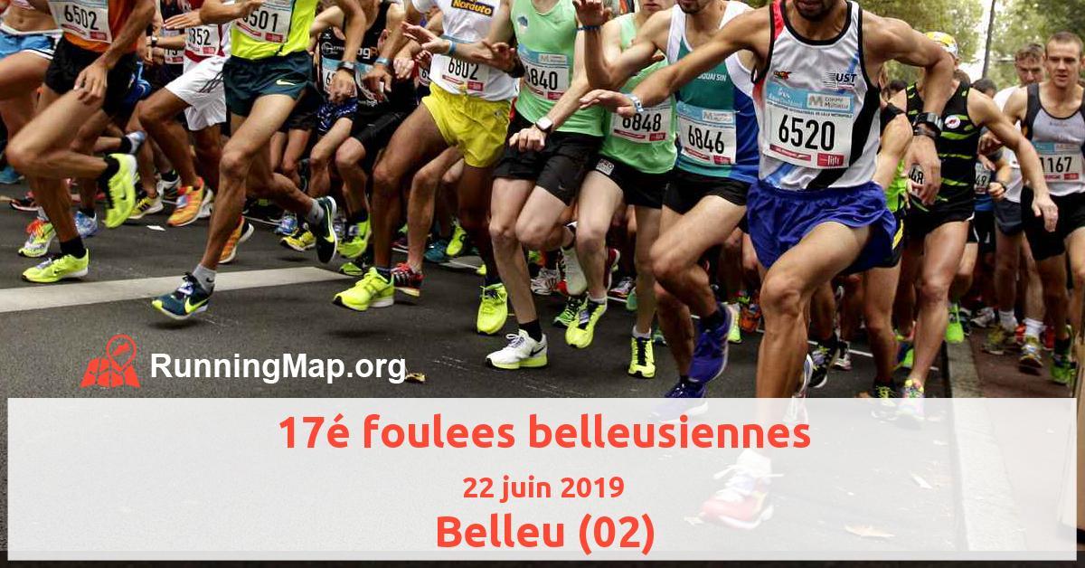 17é foulees belleusiennes