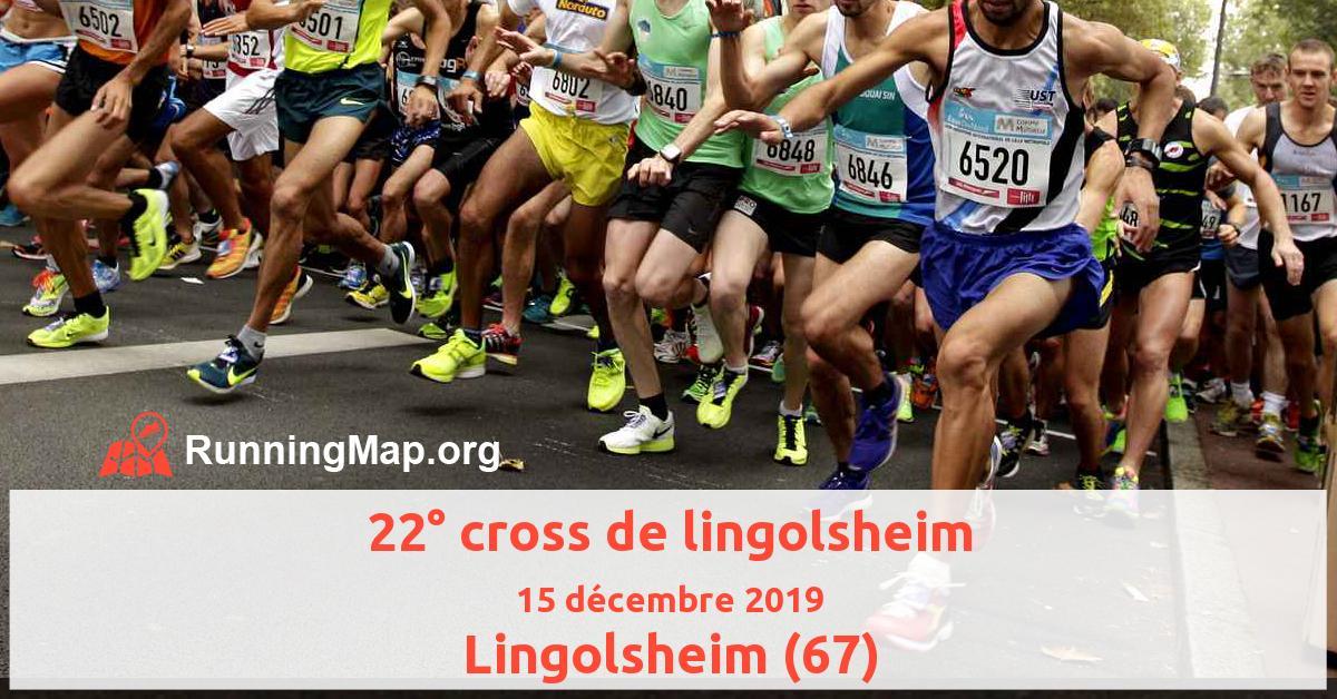 22° cross de lingolsheim
