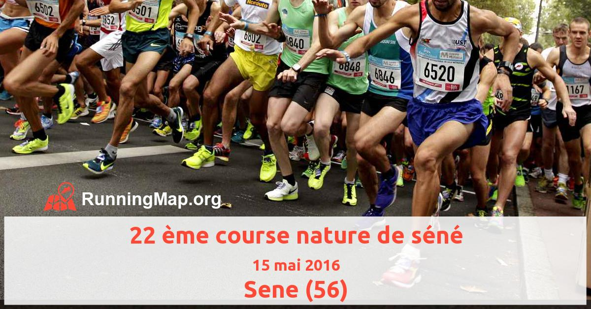 22 ème course nature de séné