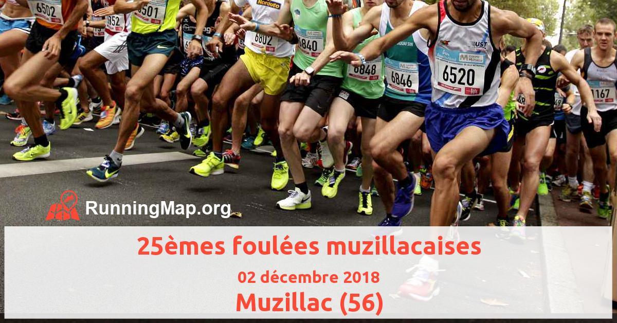 25èmes foulées muzillacaises