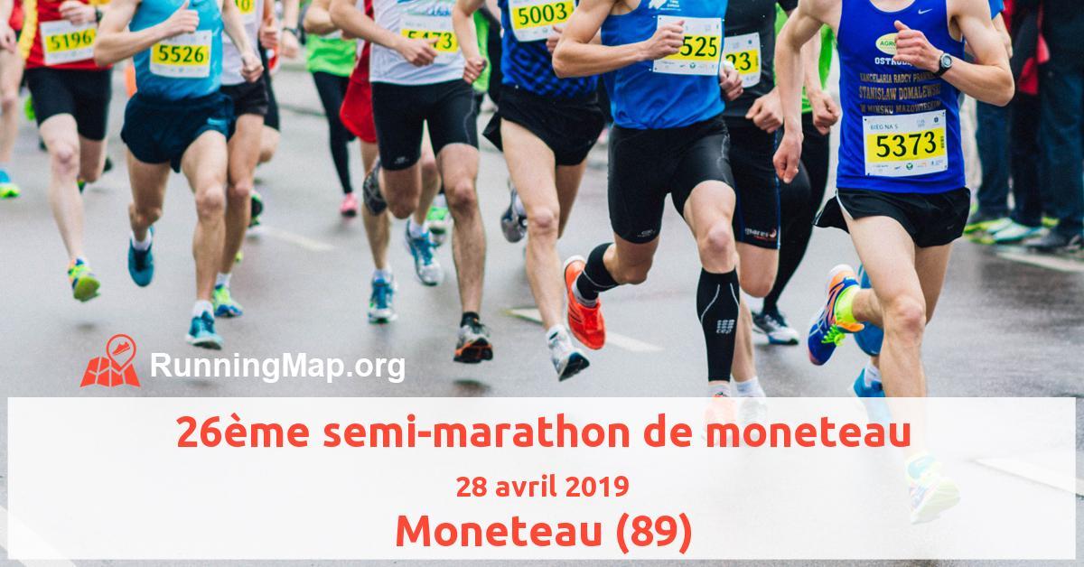 26ème semi-marathon de moneteau