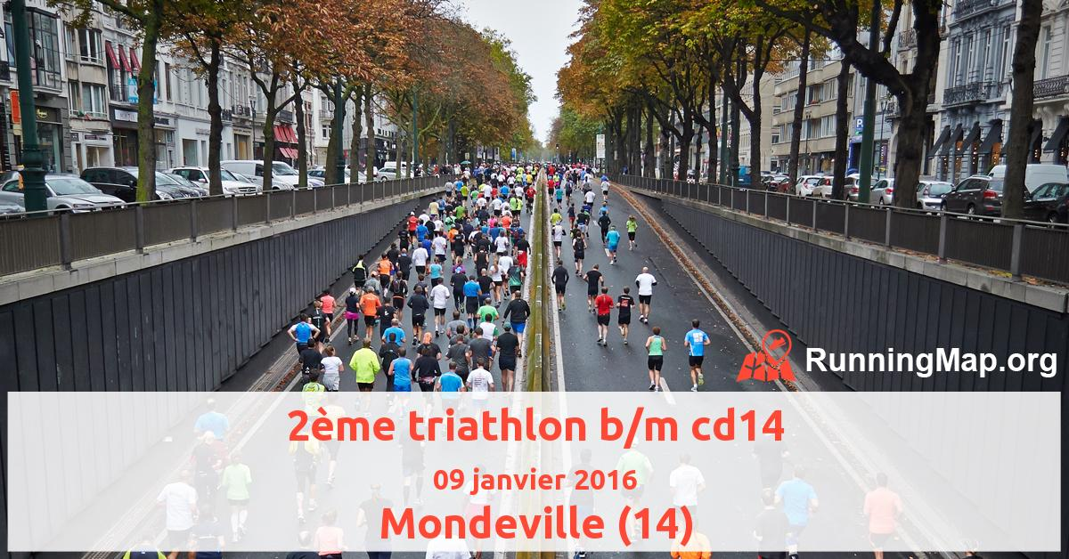 2ème triathlon b/m cd14