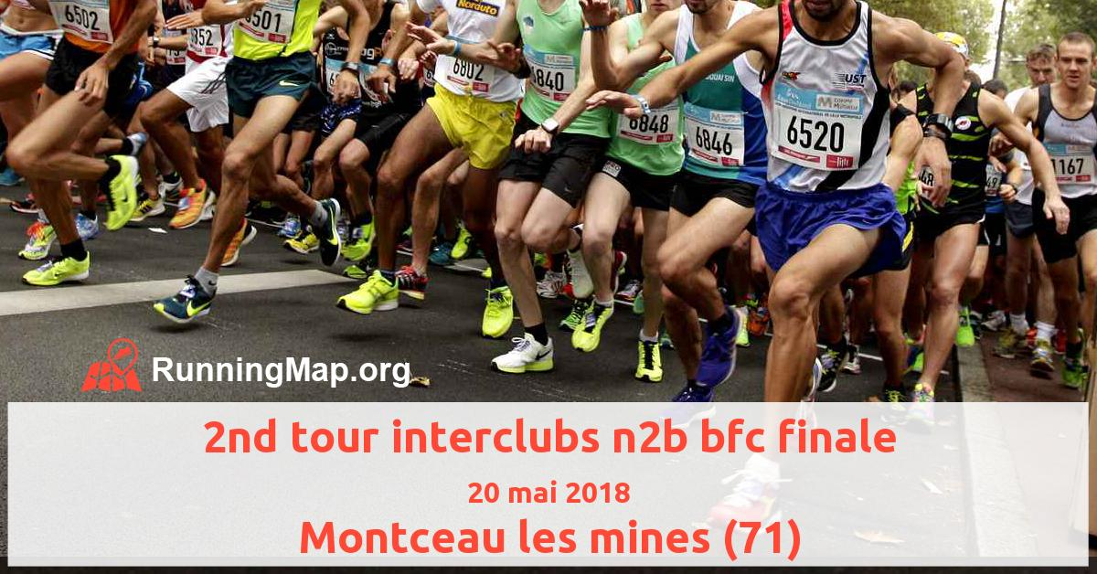 2nd tour interclubs n2b bfc finale