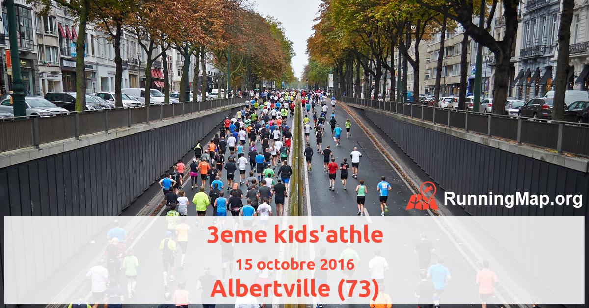 3eme kids'athle