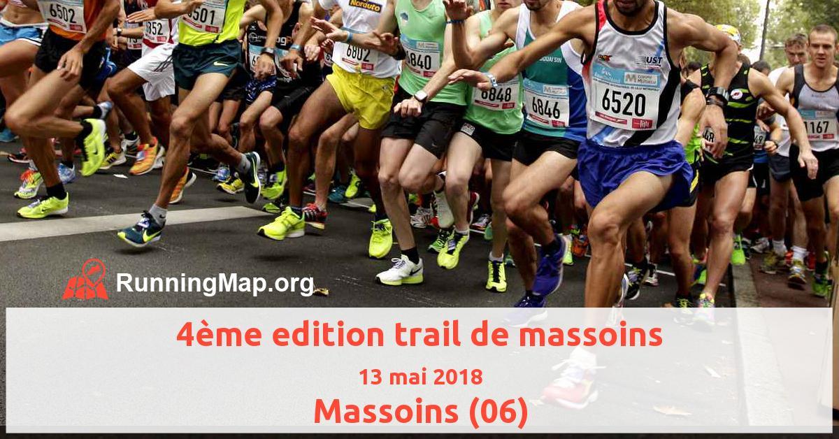 4ème edition trail de massoins