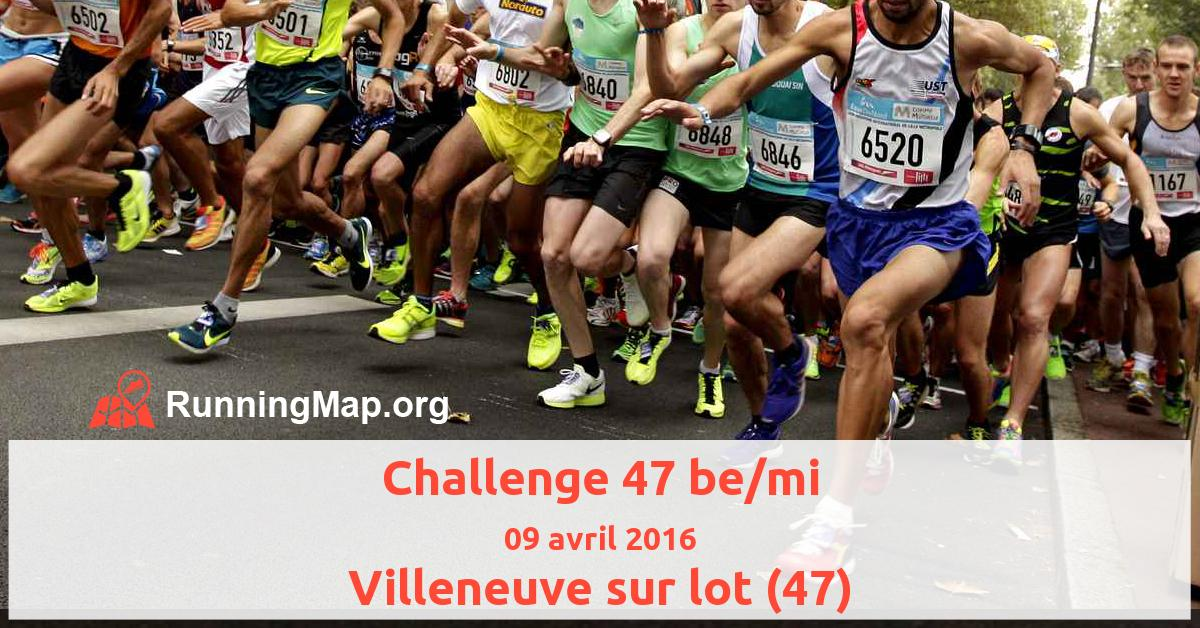 Challenge 47 be/mi