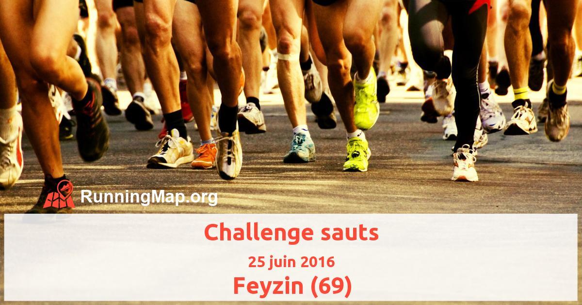 Challenge sauts