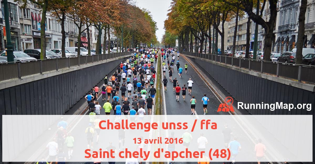 Challenge unss / ffa