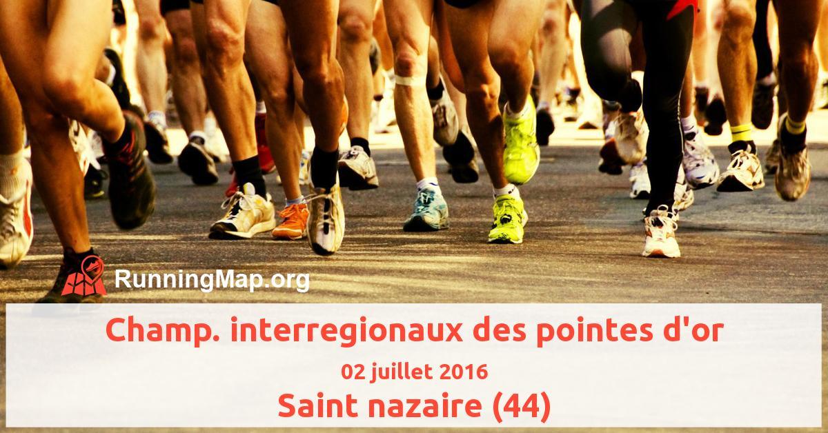 Champ. interregionaux des pointes d'or