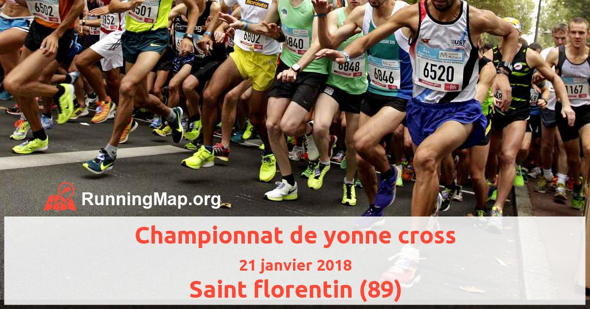 Championnat de yonne cross
