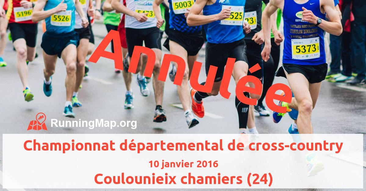 Championnat départemental de cross-country