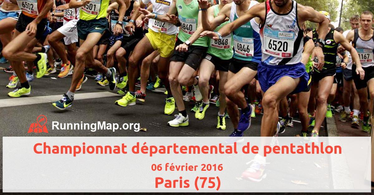 Championnat départemental de pentathlon