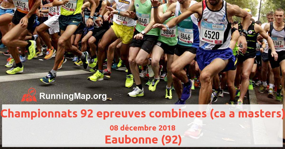 Championnats 92 epreuves combinees (ca a masters)