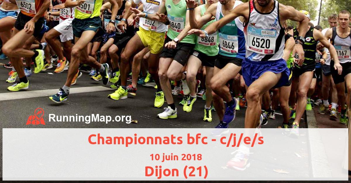 Championnats bfc - c/j/e/s