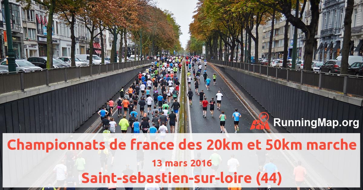 Championnats de france des 20km et 50km marche