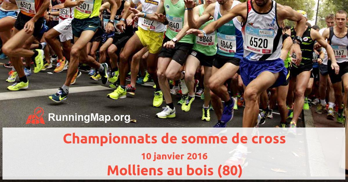 Championnats de somme de cross