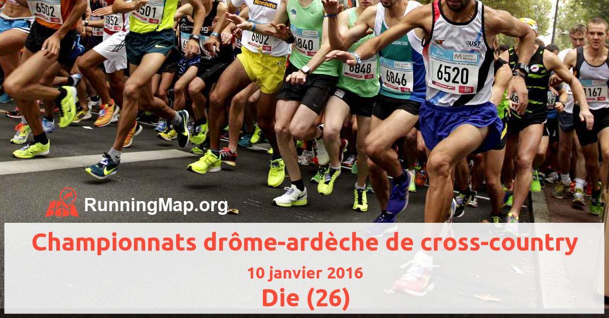 Championnats drôme-ardèche de cross-country