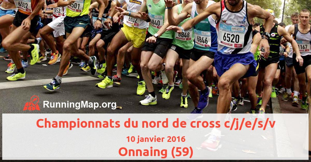 Championnats du nord de cross c/j/e/s/v
