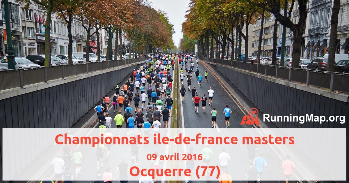 Championnats ile-de-france masters
