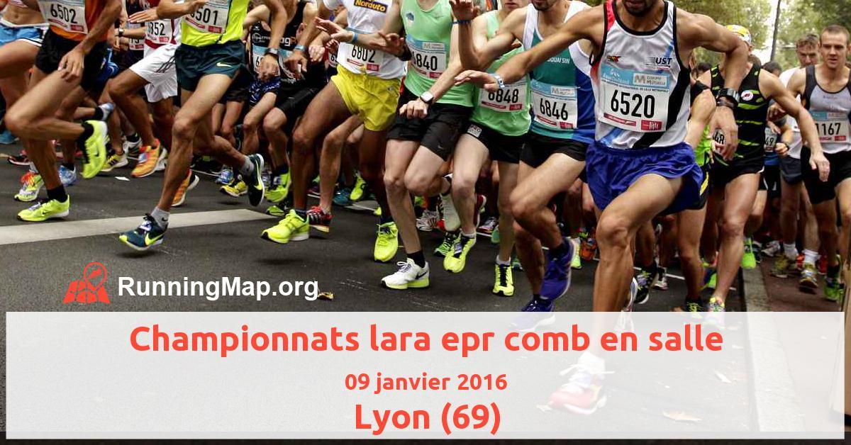 Championnats lara epr comb en salle