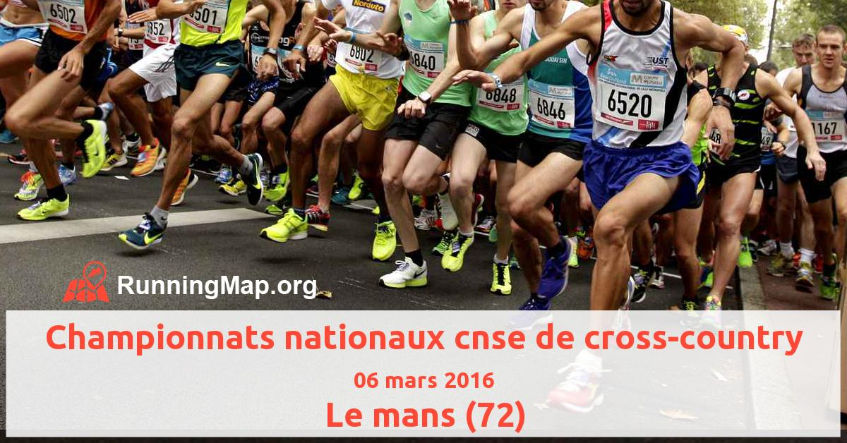 Championnats nationaux cnse de cross-country