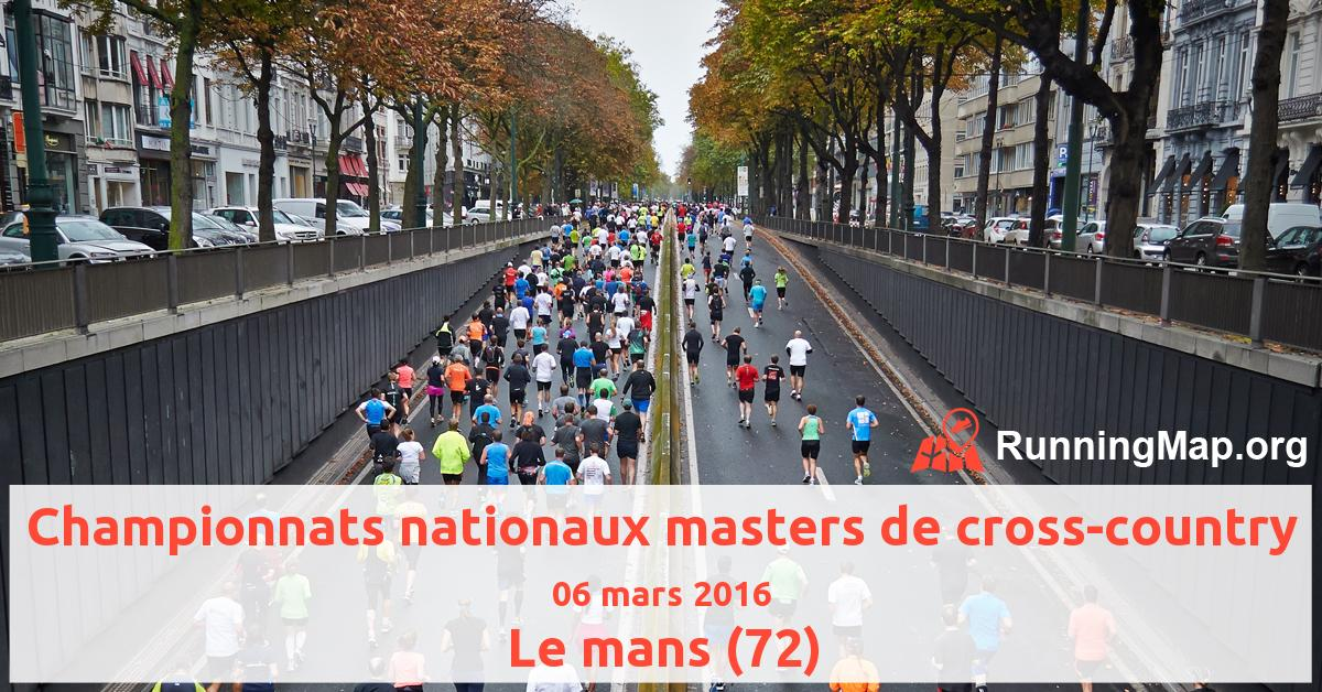 Championnats nationaux masters de cross-country