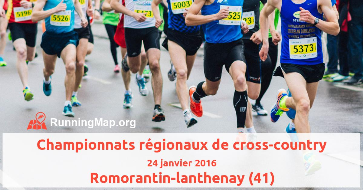 Championnats régionaux de cross-country