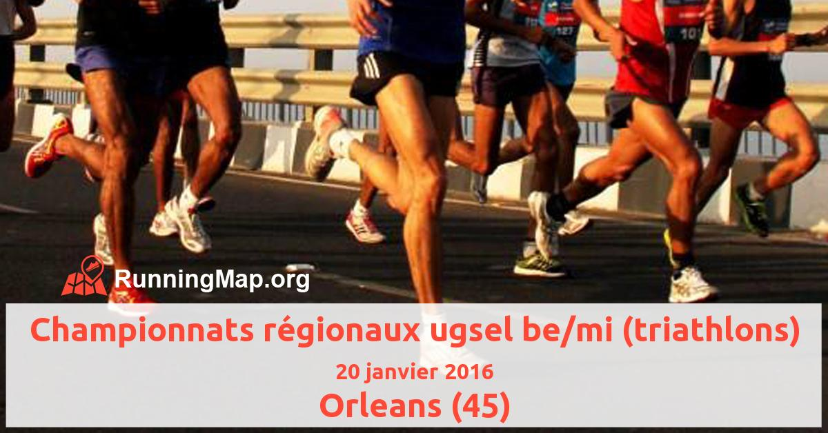 Championnats régionaux ugsel be/mi (triathlons)