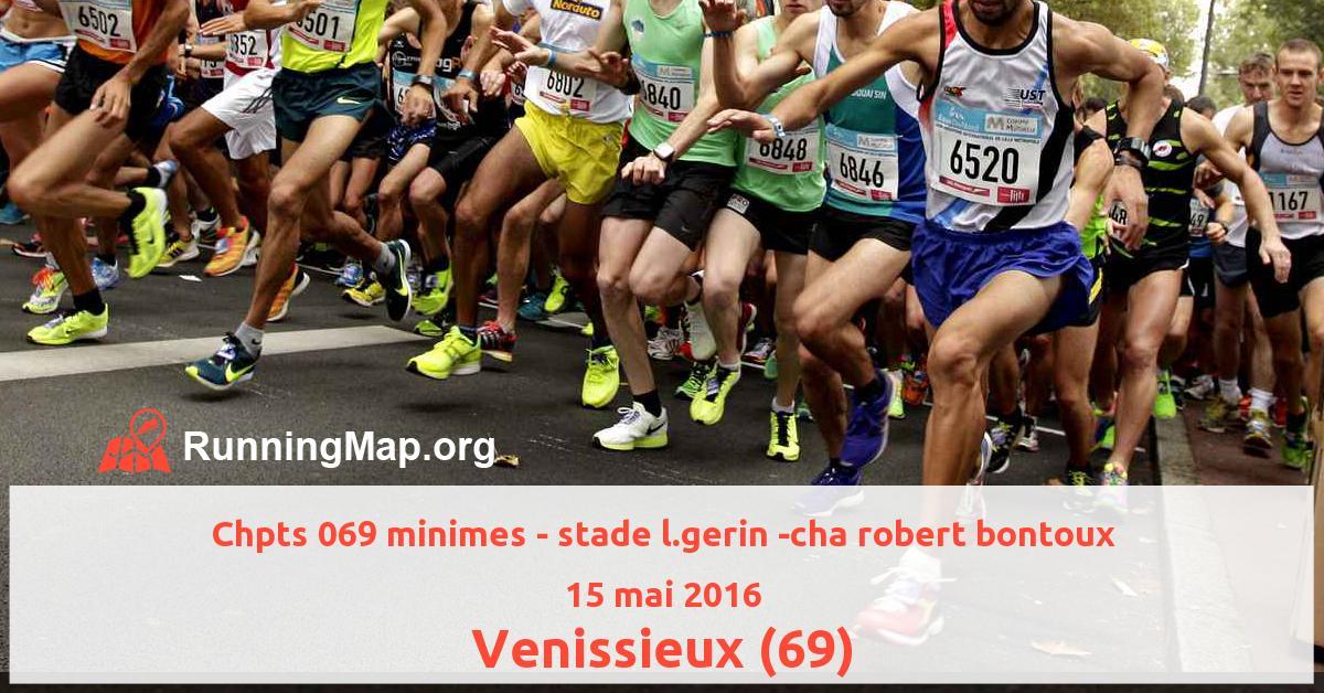Chpts 069 minimes - stade l.gerin -cha robert bontoux