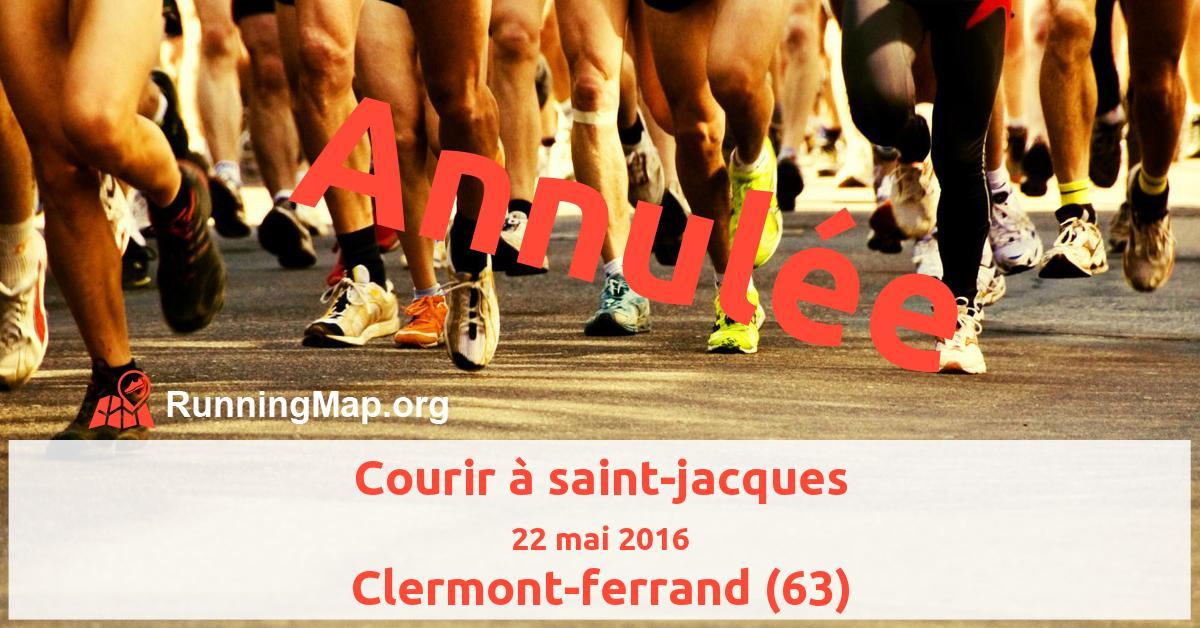 Courir à saint-jacques