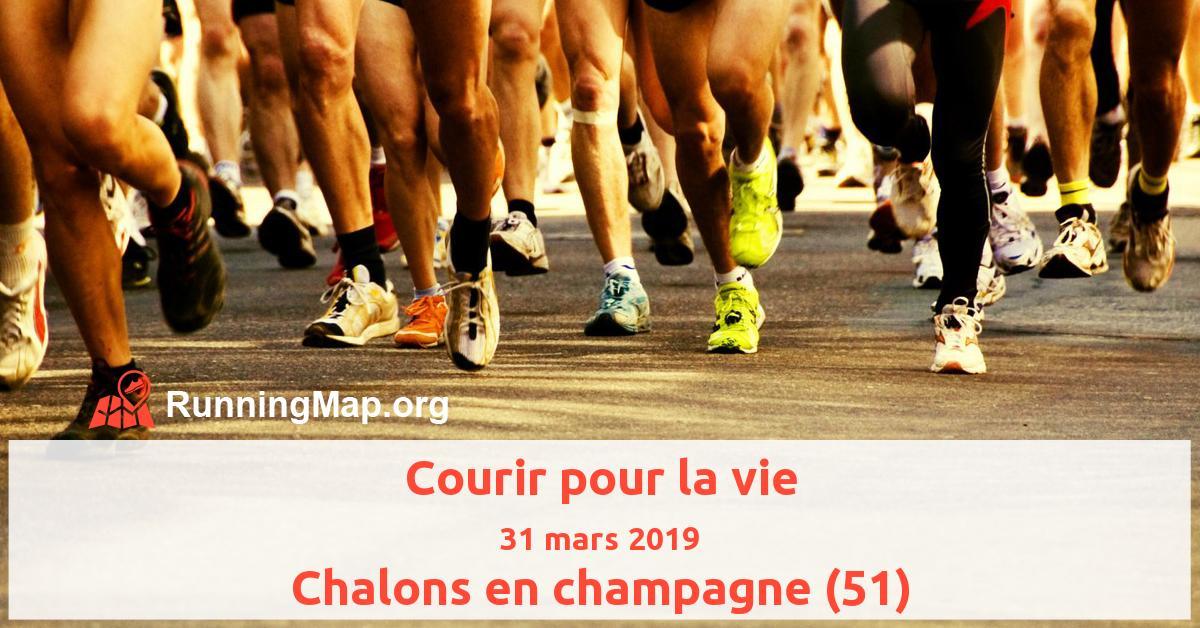 Courir pour la vie