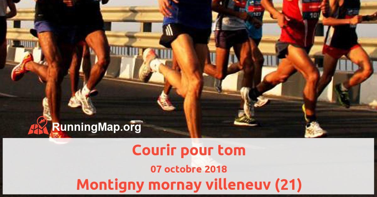 Courir pour tom