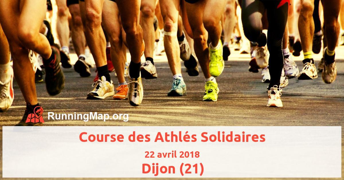 Course des Athlés Solidaires