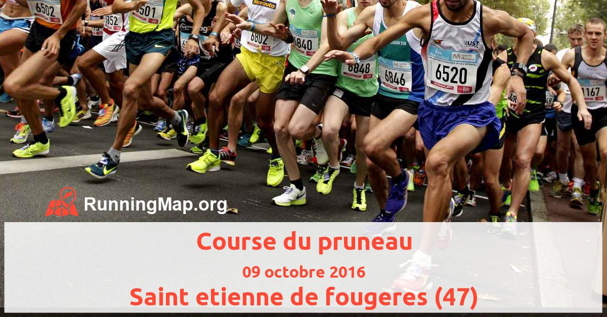 Course du pruneau