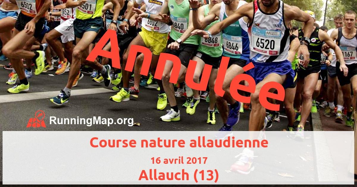 Course nature allaudienne