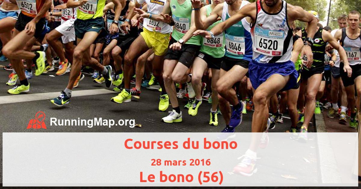 Courses du bono