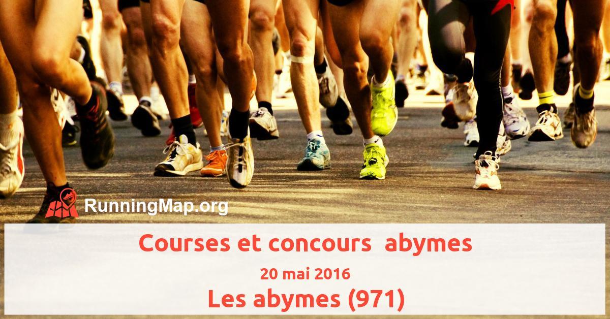 Courses et concours  abymes