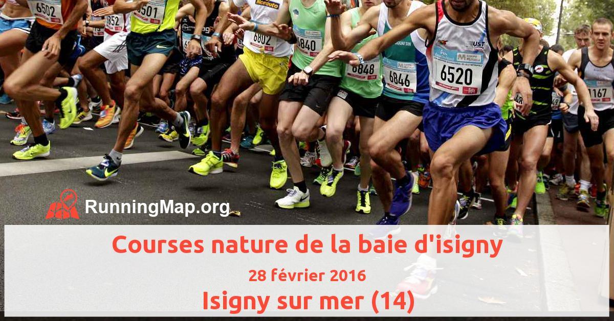 Courses nature de la baie d'isigny