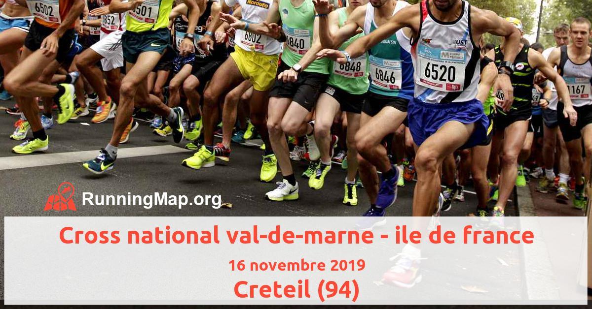 Cross national val-de-marne - ile de france