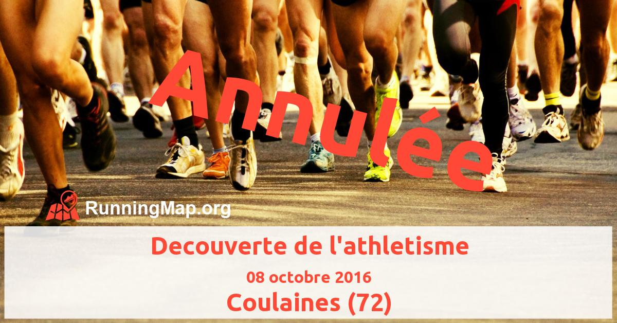 Decouverte de l'athletisme