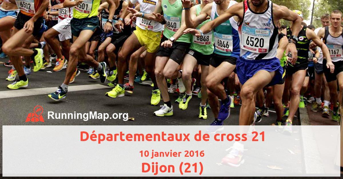 Départementaux de cross 21