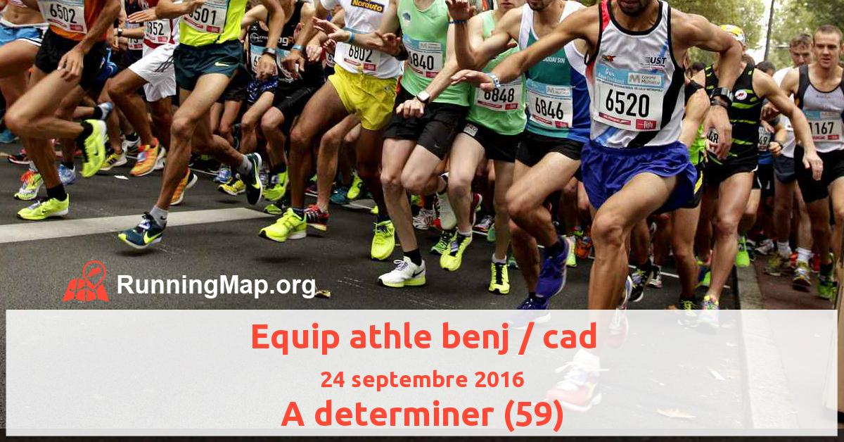 Equip athle benj / cad