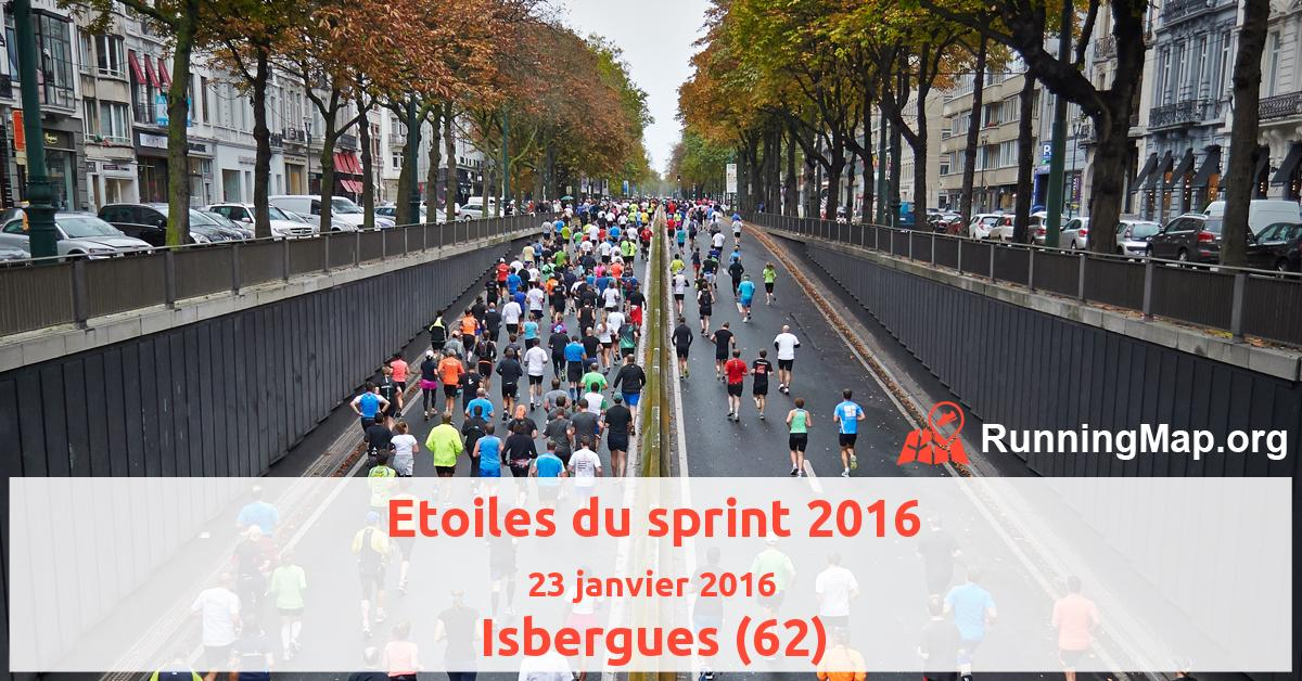 Etoiles du sprint 2016