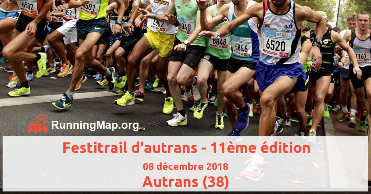 Festitrail d'autrans - 11ème édition