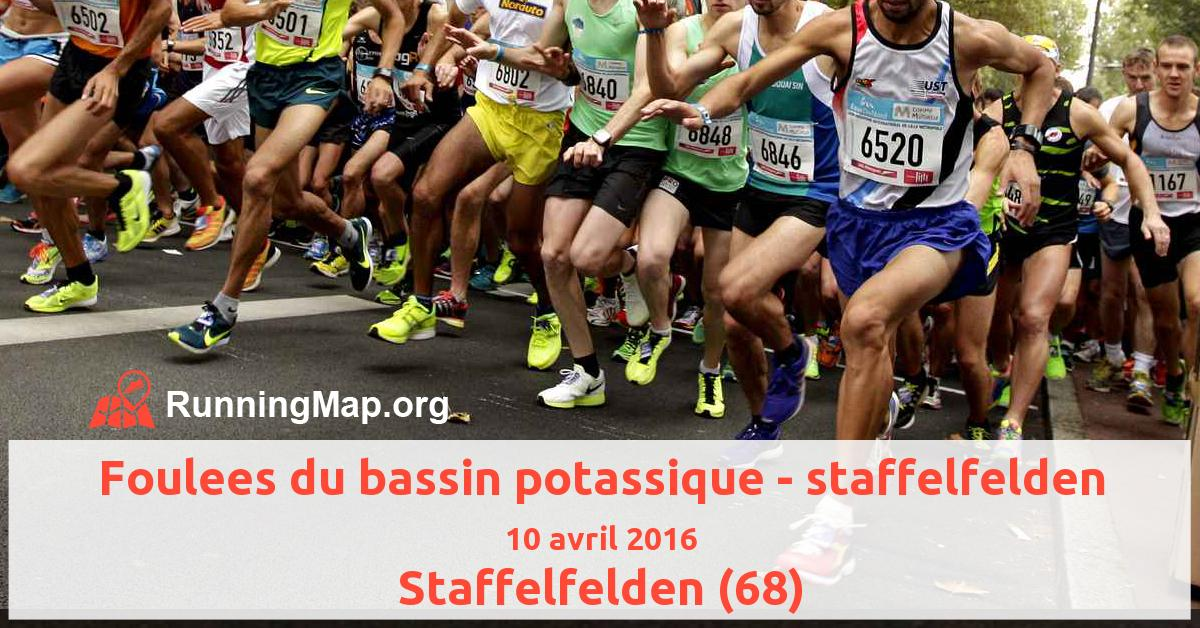 Foulees du bassin potassique - staffelfelden